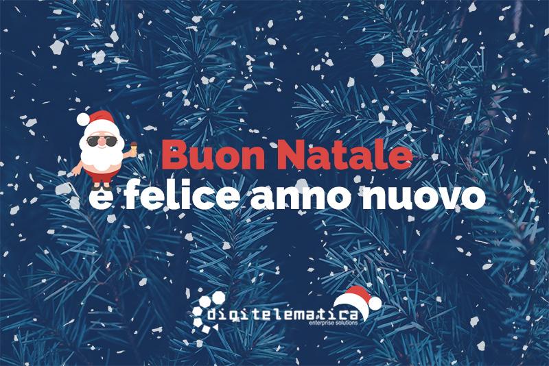 Auguri Di Buon Natale E Felice Anno Nuovo.Un Anno Con Voi Buon Natale E Felice Anno Nuovo Digitelematica